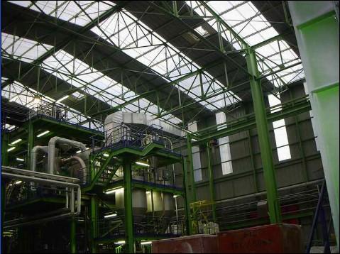 安装与检验(六); 一些国厂房外钢结构例图