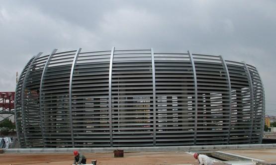 1钢结构屋面横向水平支撑的作用